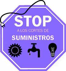 Stop cortes suministros