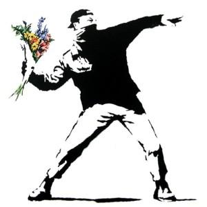 Banksy Ramo Flores